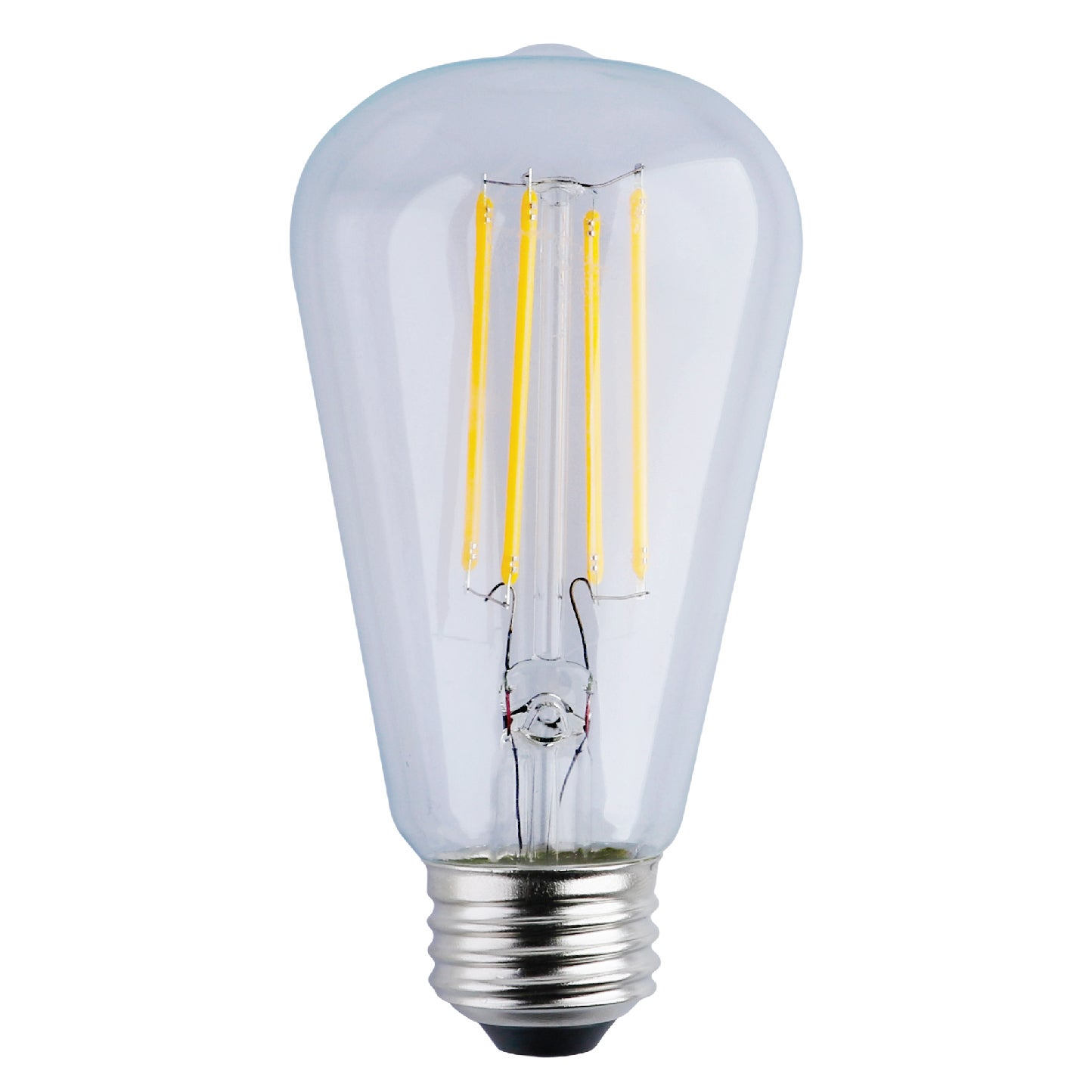 Goodlite St21 Clear Led Light Bulb 7w 80w Equivalent 850 Lumens Warm White 2700k E26 Base Dimmable 10 Pack