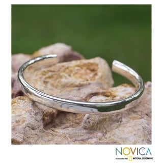 Handcrafted Sterling Silver 'Perfection' Bracelet (Mexico)