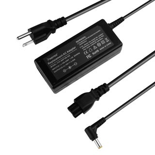 Insten Black 19V 3.42A 65W Replacement Laptop Travel Charger Power AC Adapter for ASUS Vivobook Eeetop EeeBox