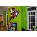 Full color Superheroes Iron man sticker, Iron man decal, wall art decal Sticker Decal size 33x45