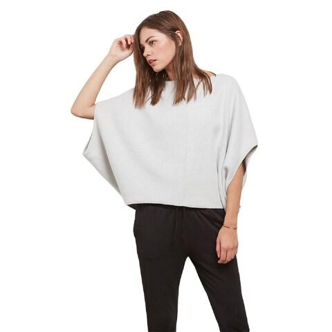BB Dakota Women's Ailee Grey Brushed Knit Sweatshirt