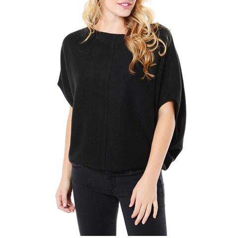 BB Dakota Black Brushed Knit Sweatshirt