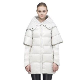 SNOWMAN Women's 'Surreal' White Down Coat