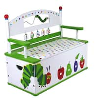 Levels of Discovery Very Hungry Caterpillar Bench Seat with Storage