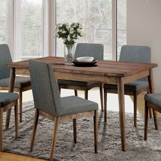 Furniture of America Reynorth Mid-century Modern Natural Tone Dining Table