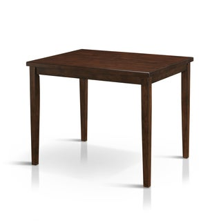 Furniture of America Tenor Mid-century Modern Brown Cherry Counter Height Dining Table