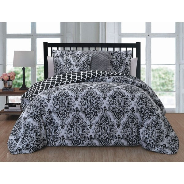 Avondale Manor Teagen 5-piece Reversible Comforter Set