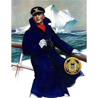 Marmont Hill - 'The Captain' Painting Print on Wrapped Canvas