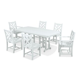 POLYWOOD Chippendale 7-Piece Outdoor Dining Set