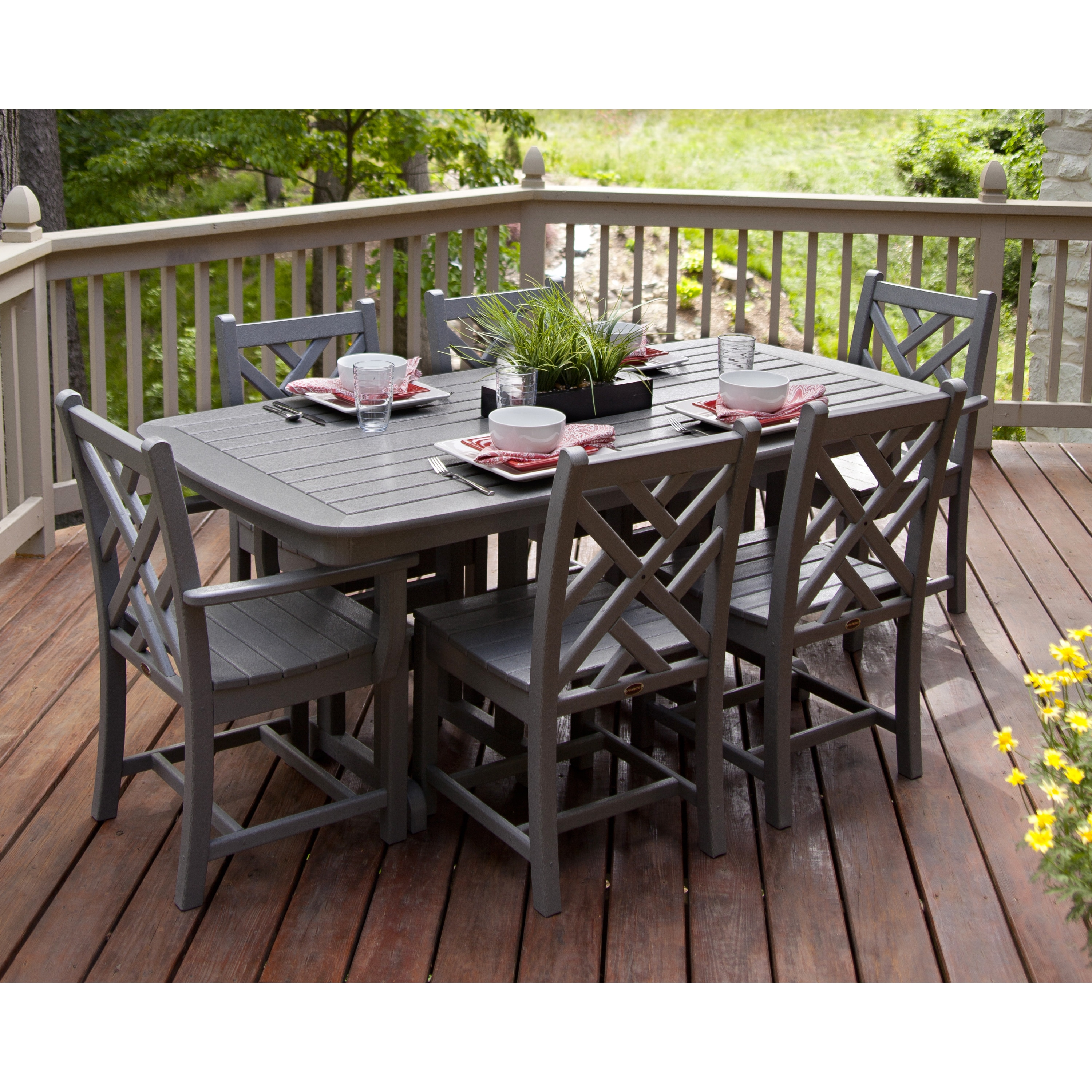 Chippendale 7 Piece Outdoor Dining Set