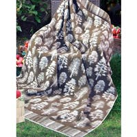 Cotton All Purpose Jacquard Design Blanket