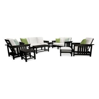 POLYWOOD Mission 8-Piece Deep Seating Group