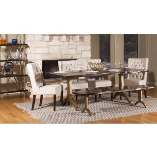 Ambroise 80-inch Live Edge Acacia Wood Dining Table