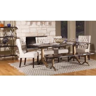 Ambroise 80 inch Live Edge Acacia Wood Dining Table. Acacia Dining Room   Kitchen Tables For Less   Overstock com