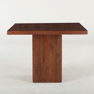 Zen 40-inch Acacia Square Dining Table