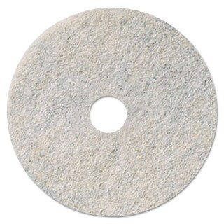 3M Niagara Natural White Burnishing Pad 27 inches Dia