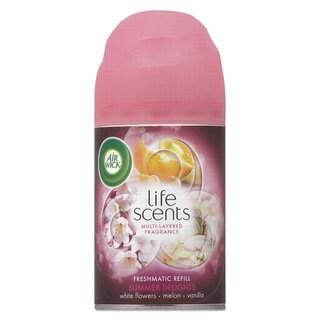 Air Wick Freshmatic Life Scents Ultra Refill Summer Delights 6.17-ounce Aerosol 6/Carton