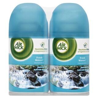 Air Wick Freshmatic Ultra Spray Refill Fresh Waters Aerosol 6.17-ounce 2/Pack 3 Pack/Carton