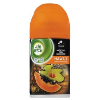 Air Wick Freshmatic ULettera Spray Refill Hawaii Exotic Papaya/Hibiscus Aerosol 6.17-ounce,6/Carton
