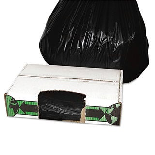 FlexSol Linear Low-Density Ecosac 33 x 39 33-Gallon 1.5 Mil Black 150/Case