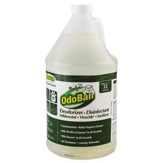 OdoBan Concentrated Odor Eliminator Eucalyptus 1gal Bottle 4/Carton