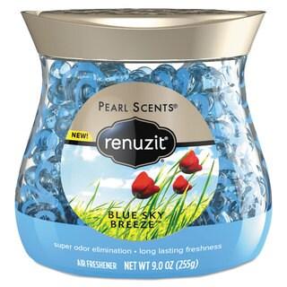 Renuzit Pearl Scents Odor Neutralizer Blue Sky Breeze 9-ounce Jar 8/Carton