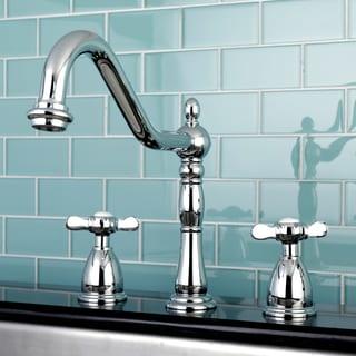 Heritage Cross Kitchen Faucet