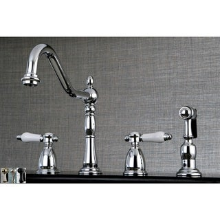 Link to Heritage Porcelain Kitchen Faucet with Side Spayer Similar Items in Faucets