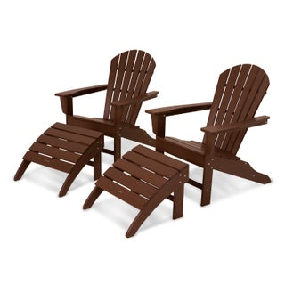 South Beach 4-Piece Adirondack Set (5 options available)