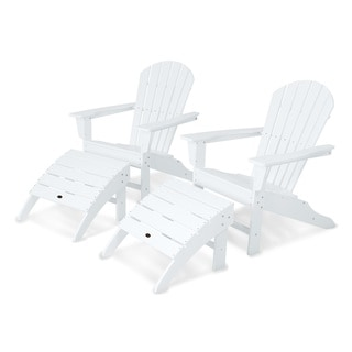 South Beach 4-Piece Adirondack Set