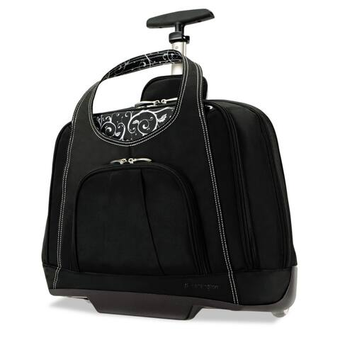 Kensington Contour Balance Rolling Netbook Case,18-inch wide x 9-inch deep x 13-1/2h Black