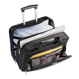 Samsonite Rolling Business Case 16 1/2 x 8 x 13 1/4 Black