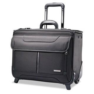 Samsonite Rolling Catalog Case 17 1/4 x 7 1/2 x 13 Black