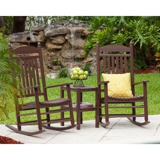 POLYWOOD Jefferson 3-piece Rocker Set