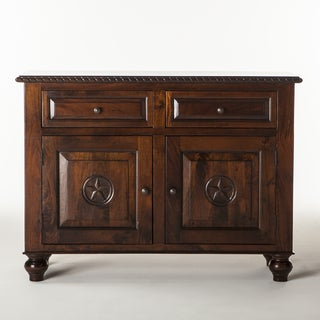 Valencia Hand-carved Mango Wood Sideboard
