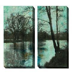Gallery Direct Sara Abbott 'The Arbor' Oversized Canvas Art Set