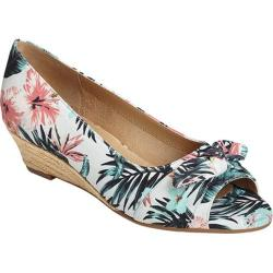 Women's Aerosoles Ship Deck Wedge Floral Combo Fabric