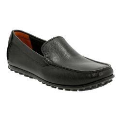 Men's Clarks Hamilton Free Driving Moc Black Leather