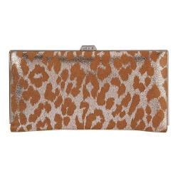 Women's Lodis Sophia Safari Quinn Clutch Wallet Silver
