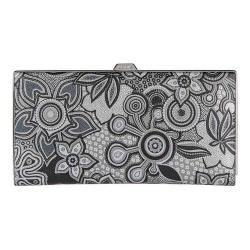 Women's Lodis Vanessa Swirl Quinn Clutch Wallet Multi