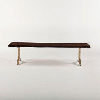 Ambroise Acacia Wood Bench
