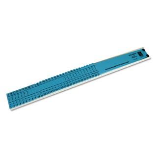 C-Line Left-Handed All-Purpose Sorter 31 Dividers Blue