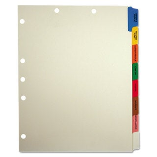Tabbies Medical Chart Divider Sets Side Tab 9 x 11 40 Sets/Box