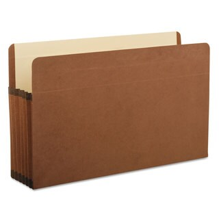 Pendaflex Premium Reinforced Expanding File Pockets Straight Cut 1 Pocket Legal Brown