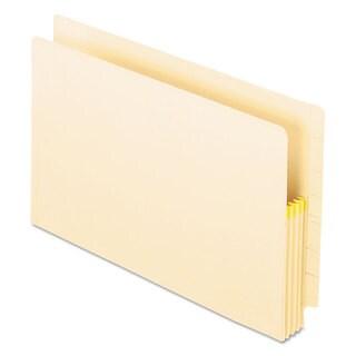 Pendaflex Manila Drop Front Shelf File Pockets Straight Cut 25 Pockets Legal Manila