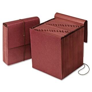 Pendaflex Vertical Indexed Expanding File 1-31 31 Pockets Red Fiber Letter Redrope