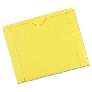 Quality Park File Jackets 9 1/2 x 11 3/4 3 Point Tag Cameo Buff 100/Box