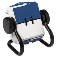 Rolodex Open Rotary Card File Holds 250 1 3/4 x 3 1/4 Cards Black