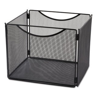 Safco Desktop File Storage Box Steel Mesh 12-1/2-inch wide x 11-inch deep x 10h