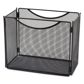 Safco Desktop File Storage Box Steel Mesh 12-1/2-inch wide x 7-inch deep x 10h
